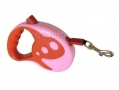 Max and Tilly 5 Metre Retractable Dog Lead Red/pink BML31810 *Out of Stock*