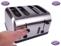 Quest Silver 1500 Watt 4 Slice Toaster with Wide Slots BML34080 *Out of Stock*