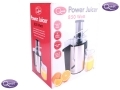 Quest 850 Watt Juicer Brushed Steel Finish Extra Large Chute for whole fruit BML34190 *Out of Stock*