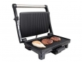 Quest 1200 Watt Stainless Steel Panini Sandwich Press with Non-stick Plates BML35600 *Out of Stock*