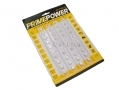 PrimePower 40 Piece Assorted Button Cell Battery Set BML42370SINGLE