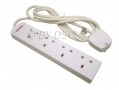 Lectrolite 4 way Multiway Adapter Surge Protector Extension Lead 13amp 2 Meter BML45200 *Out of Stock*