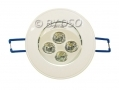 Omicron White Finish LED Downlight 6400k (cool white) 5 Watt BML49650