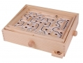 Global Gizmos Wooden Labyrinth Puzzle Game BML50880