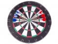 Global Gizmos 2 Sided Dart Board with 6 Darts BML51070 *Out of Stock*