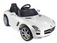 RASTAR Licensed  Kids Mercedes SLS AMG 6v White with Parental Remote Control BML52810 *Out of Stock*