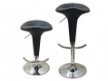 Divine Oscar Design Faux Leather Bar Stool in Black BML62990