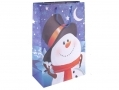 Snowman Jumbo Christmas Gift Bag 600 x 400 x 210mm BML65450SNOWMAN *Out of Stock*