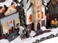 Christmas Snow Street Scene Church BML70000CH