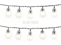 50 String Party Christmas Garden Bulb LED Lights Warm White BML75000