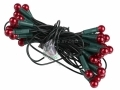 50 Christmas Red Berry String Lights BML78160 *Out of Stock*