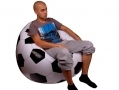 Jilong Inflatable Chair Soccer Football Design Chequered 108cm x 108cm x 68cm BML80660 *Out of Stock*