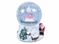 15 cm Musical Christmas Snow Globe BML84410 *Out of Stock*