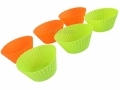 Non Stick and Easy Release Silicone Six Piece Cupcake Bake Set BML92751