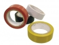 Tool-Tech Coloured Insulation Tape 4pk  Red, Black, White and Yellow BML94650