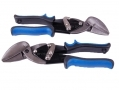 Professional 2 Pc CRV Full Offset Aviation Tin Snips CT035LR *Out of Stock*