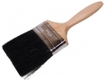"100mm (4"") Professional Painters and Decorators Paint Brush with Wooden Handle DC138"