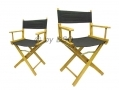 Directors Chair 180kgs Capacity 380g Cotton Seating x 2 DC202 *Out of Stock*