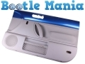 VW Beetle 99-2005 Not Convertible Drivers Side Inner Door Card in Ravenna Blue DOORCARDDRIVLA5W *Out of Stock*