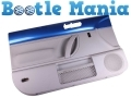 VW Beetle 99-2005 Not Covertible Passenger Side Inner Door Card in Ravenna Blue DOORCARDPASSLA5W *Out of Stock*