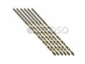 Professional 8 Piece 3mm HSS 4241 Long Straight Shank Twist Drill Bits DR049 *Out of Stock*