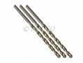 Professional 3 Piece 6mm HSS 4241 Long Straight Shank Twist Drill Bits DR052