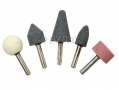 "5 Piece 1/4"" Mounted Stone Set DR183"