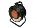 25m Extension Reel Lead with 4 x 13 Amp Sockets CE ROHS ECR111