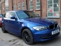 2011 BMW 116i 2.0 SE 5 Doors Hatchback Automatic Blue Leather Sunroof Nav Fold Mirrors Petrol 129,000 FSH EJ11ZXG