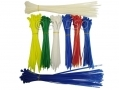 Trade Quality 500 Piece Nylon Cable Ties Various Sizes in Tube EL079