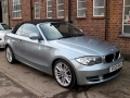 2012 BMW 118i Sports Convertible Manual AC Blue with Black Power Hood 18 inch Alloys 35,000 Miles FSH FG12UHO