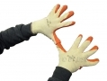 "12 pack 9"" Non-slip Fleece and Latex Dipped Builders Gloves Medium GL009 *Out of Stock*"