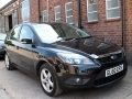 2010 Ford Focus Automatic 1.6 Zetec 5 Door Petrol Black Air Con Alloys ULEZ 50,000 miles GL60EFS