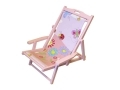 Kids Childs Deckchair Chair in Pink DC201