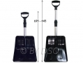 Lightweight 84cm Telescopic Snow Shovel with Aluminium Shaft SS101