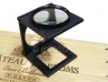 Foldable Magnifier with Imperial and Metric Markings on Base HB294