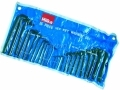 Hilka 25 pce Hex Key Set AF & Metric HIL21152503 *Out of Stock*