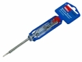 Hilka Mains Tester Slotted Screwdriver 140mm x 3mm TUV GS Approved 100 - 250v AC HIL34010602 *Out of Stock*