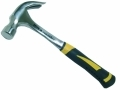 Hilka 20oz Claw Hammer All Steel Shaft Soft Grip Pro Craft HIL60200120 *Out of Stock*