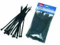 Hilka Trade Quality Nylon Cable Ties Black 100 4.8mm x 200mm HIL79250200 *Out of Stock*