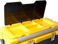 "HILKA 26"" Large Toolbox Organizer with Aluminium Handle 60cm x 31cm x 27cm HILML05 *Out of Stock*"