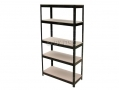 Hilka 5 Tier Shelving Unit Steel Construction HILPC3505