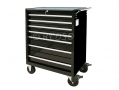 Hilka 7 Drawer Lockable Roller Cabinet Tool Box HILPMT111