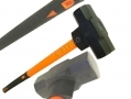 Professional Heavy Duty 14Lb Sledge Hammer with Fibre Shaft and Rubber Handle HM092 *Out of Stock*