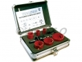 9 Piece Plumbers+C3 BiMetal HSS Holesaw HS037 *Out of Stock*