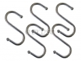 5 Piece S Shaped Hook Set HW028