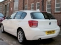 2013 BMW 116i SE Sport 5dr Step Automatic White AC DAB Cruise with Brake 37,238 miles Full BMW History HX13LTN