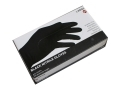 Black Large Nitrile Powdered Free 100pc 50 Pairs AGHY271L