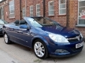 2007 Vauxhall Astra Twintop 1.8 Design Convertible Manual Petrol Park Sensors Air Con Alloys 1 Owner 53,000 miles FSH KB57AZX