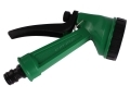 Budget Green Hand Water Spray Gun with 5 Spray Patterns with On Off Lock GD164 *Out of Stock*